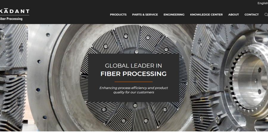 Discover the new Kadant Fiber Processing Website