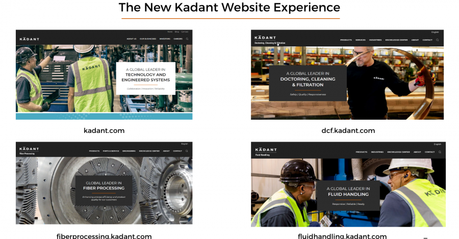 Welcome to the New Kadant Website Experience