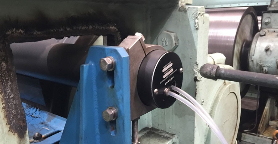 Ma Steel Runs Cleaner with Kadant VeriLite™ Roll Cleaning Assembly