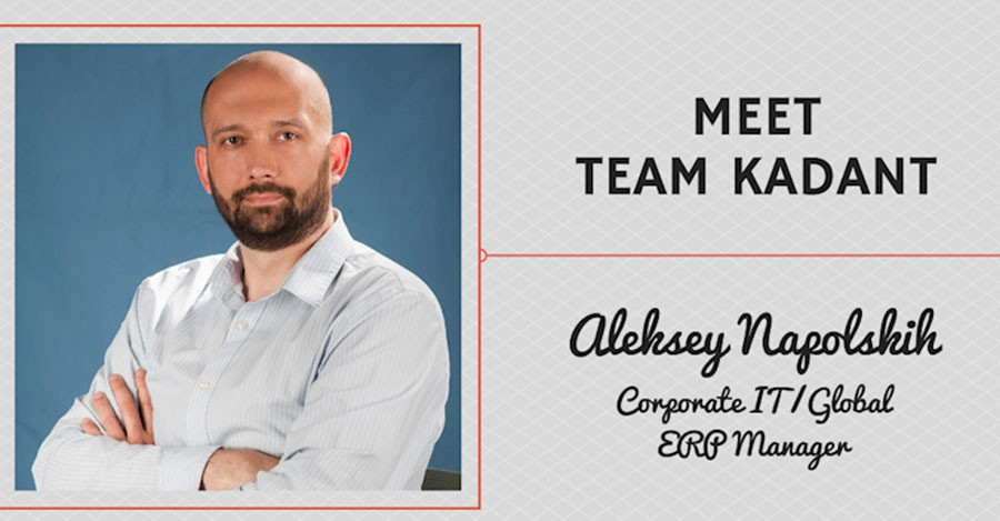 Meet Team Kadant – Aleksey Napolskih, Corporate IT / Global ERP Manager