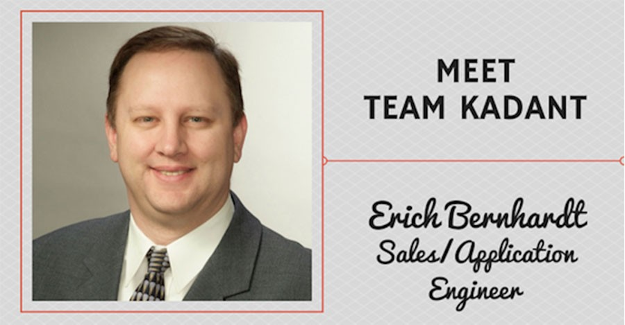Meet Team Kadant – Erich Bernhardt, Sales/Application Engineer