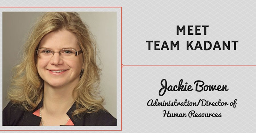 Meet Team Kadant - Jackie Bowen, Administration/Director of Human Resources