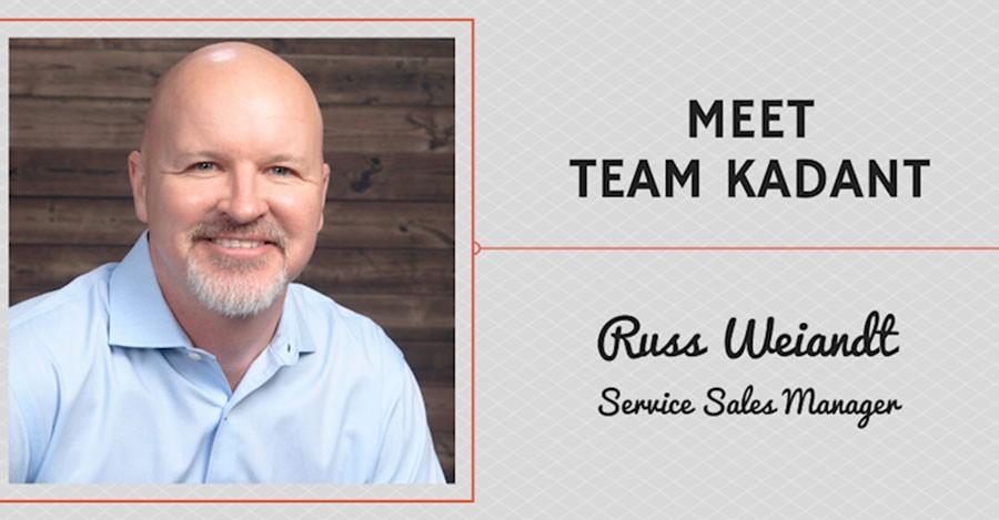 Meet Team Kadant - Russ Weiandt, Service Sales Manager