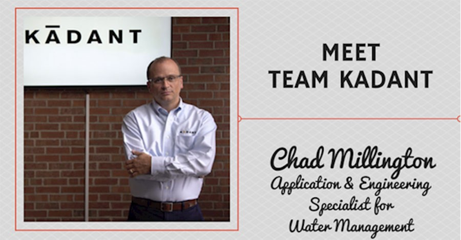 Meet Team Kadant – Chad Millington, Application & Engineering Specialist for Water Management