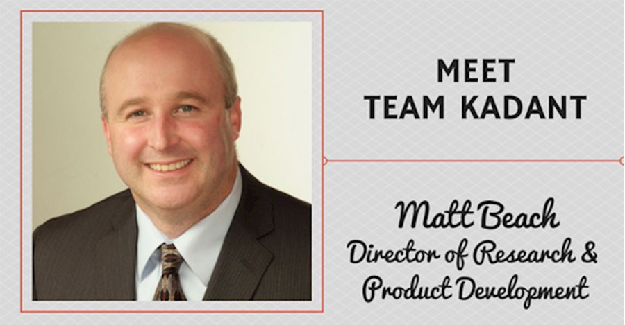 Meet Team Kadant – Matt Beach, Director of Research & Product Development