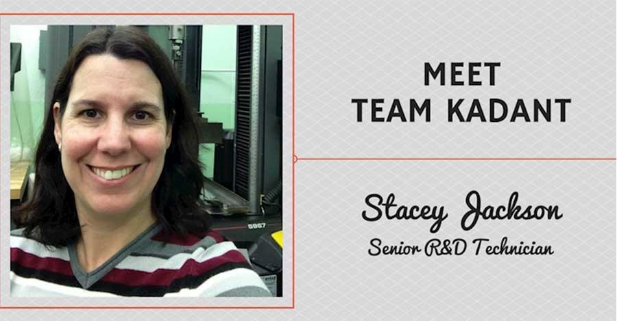 Meet Team Kadant - Stacey Jackson, Senior R&D Technician