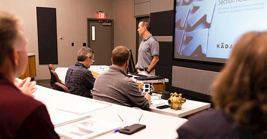 Kadant Johnson Hosts Paper Drying and Process Optimization Clinics