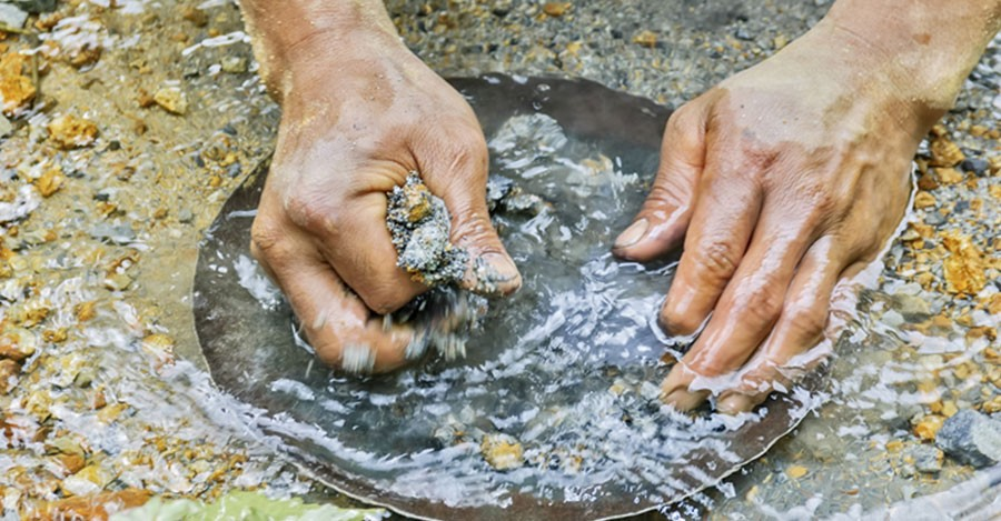 Panning for Gold the RotoFlex Way