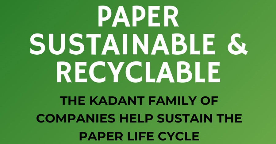 Paper - Sustainable and Recyclable